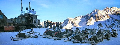 etape du berger : diner en altitude