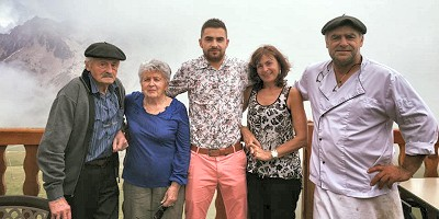 etape du berger : la famille