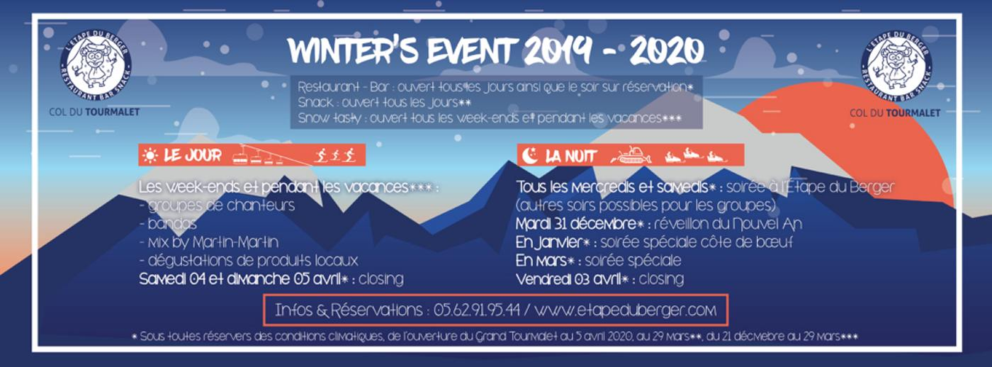 winter events etape du berger